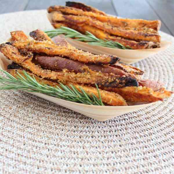 Gluten Free Crispy Baked Sweet Potato Fries