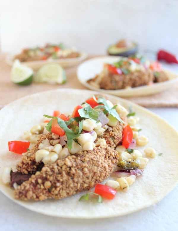 Gluten Free Crispy Avocado Tacos