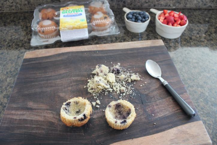 Blueberry Muffin Dessert Cups