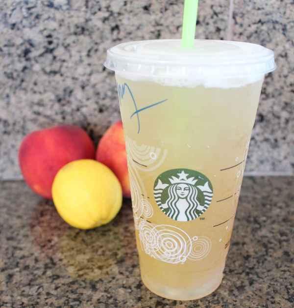 Peach Green Tea Lemonade Popsicle Ingredients