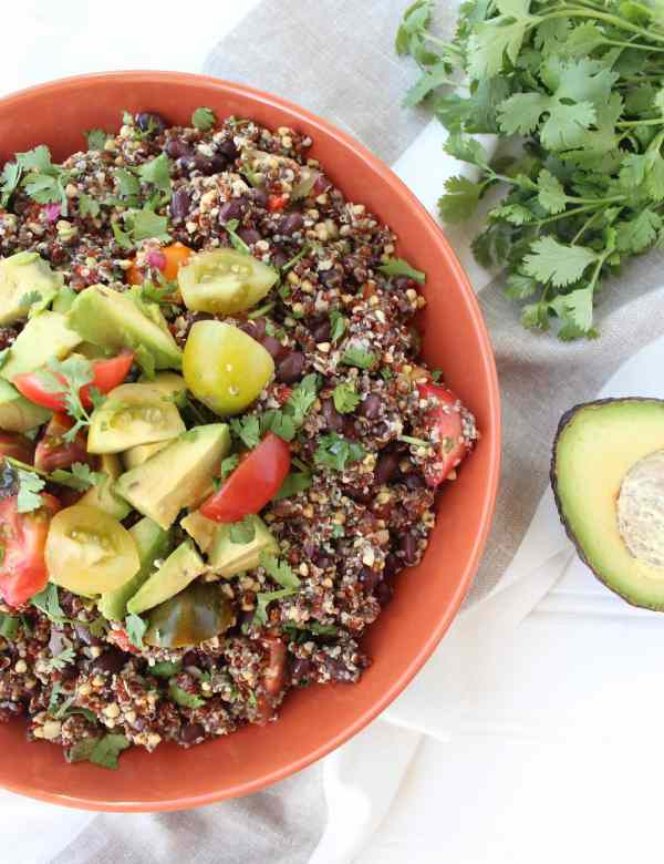 Vegan Mexican Quinoa Salad