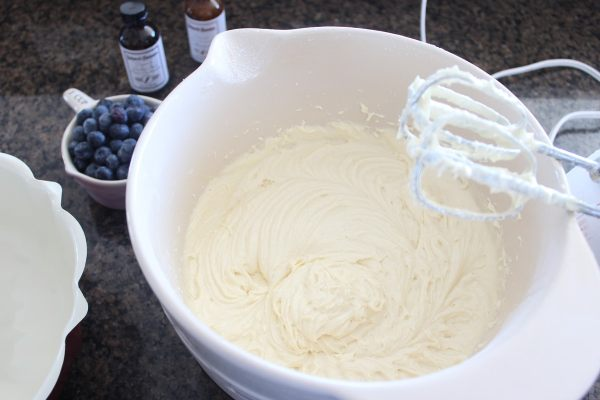 Blueberry Pound Cake Recipe