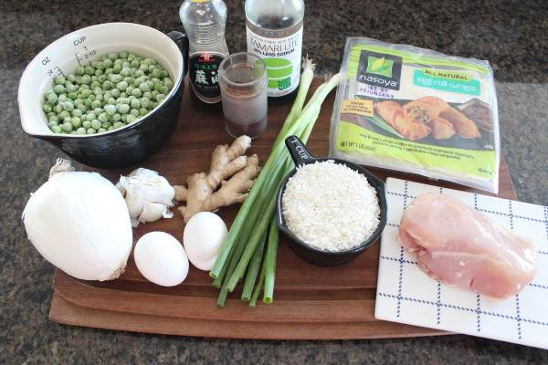 Chicken Fried Rice Egg Roll Ingredients