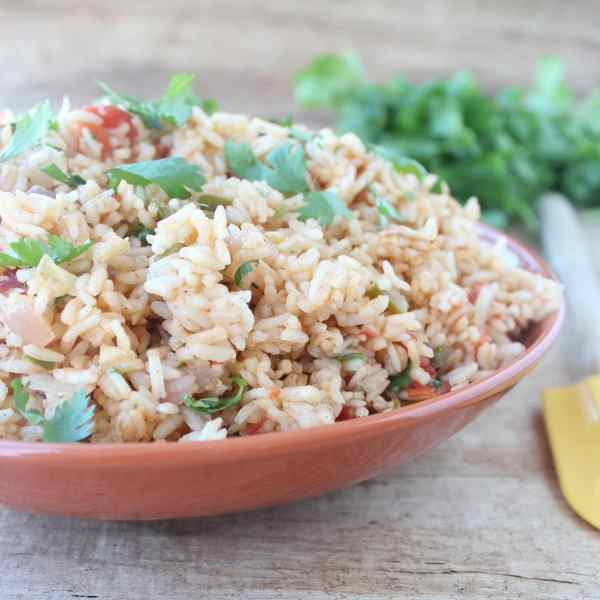 Vegetarian Mexican Rice Recipe
