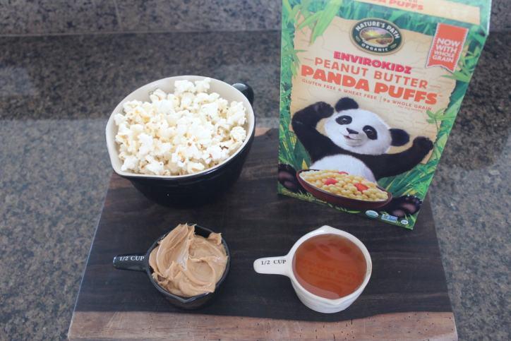 Peanut Butter Popcorn Ball Ingredients
