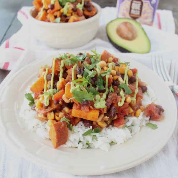 Slow Cooked Mexican Sweet Potato Casserole
