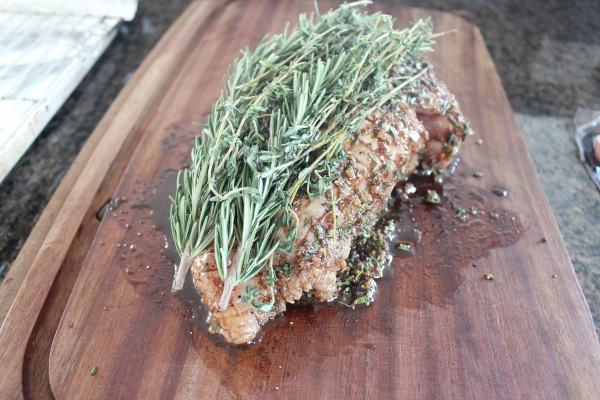 Herb Crusted Bacon Wrapped Turkey Breast Recipe