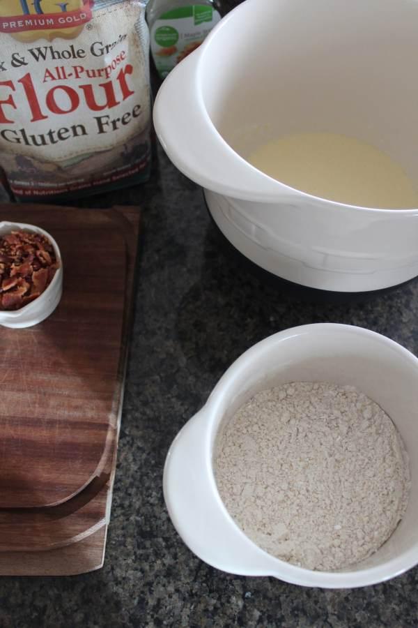 Gluten Free Maple Bacon Pancakes Recipe