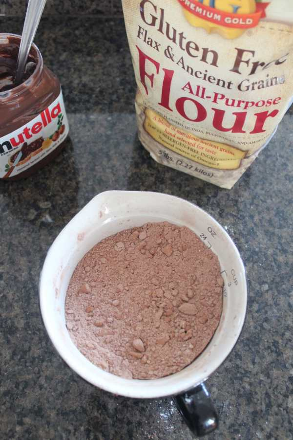 Gluten Free Nutella Brownie Recipe