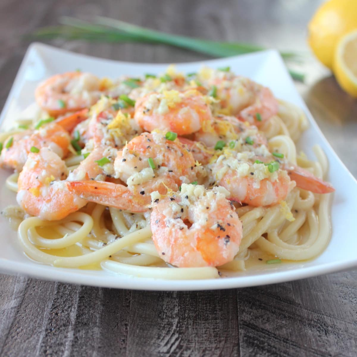 Lemon butter garlic pasta sauce recipe