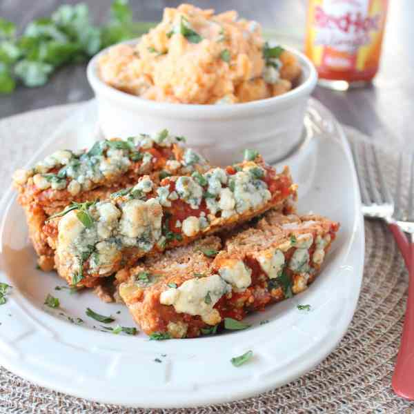 Buffalo Blue Cheese Meatloaf Recipe