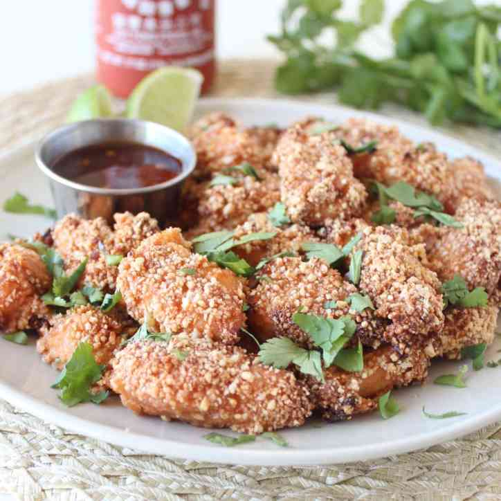 Crispy Baked Thai Cashew Chicken Recipe