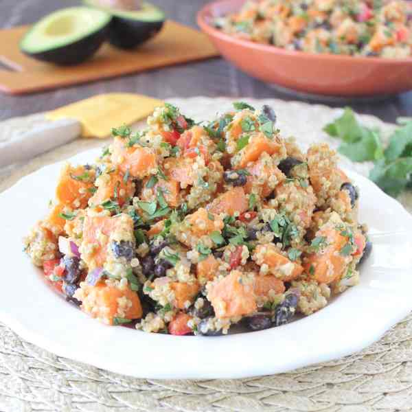 Vegan Mexican Sweet Potato Salad Recipe