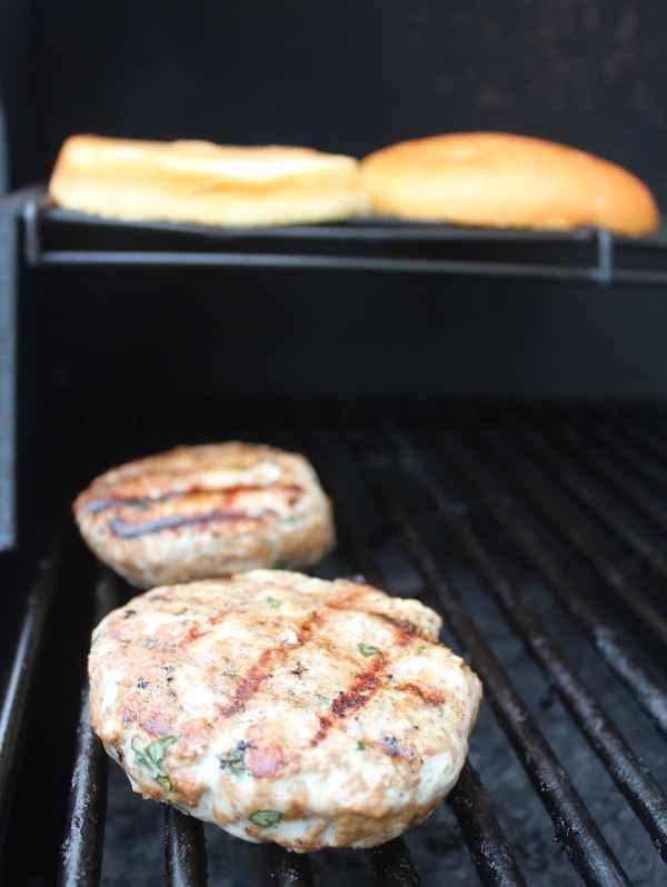 Grilled Bruschetta Turkey Burger Recipe