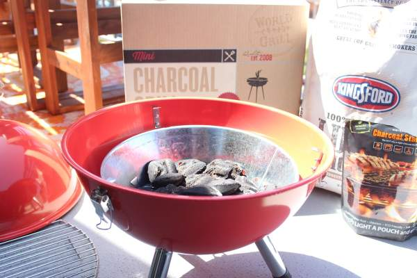 World Market Mini Charcoal BBQ Grill