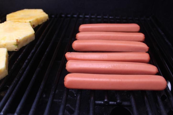 Grilled Pineapple Hawaiian Hot Dog Recipe