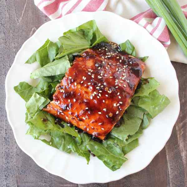 Korean BBQ Salmon Recipe