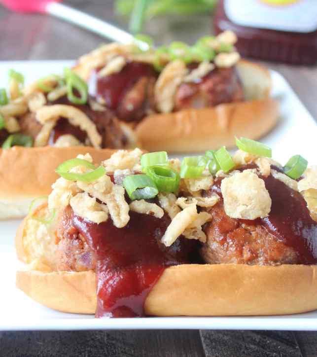BBQ Meatball Sub Recipe