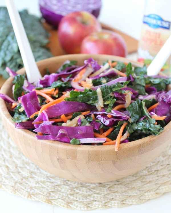 Kale Apple Slaw Recipe