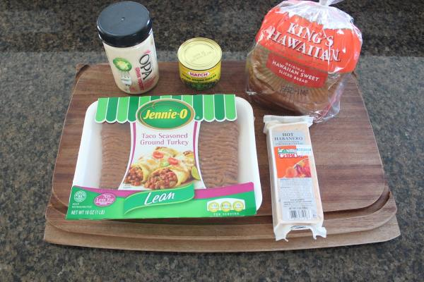 Taco Turkey Patty Melt Ingredients