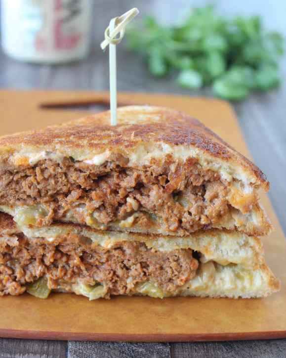 Taco Turkey Patty Melt Recipe