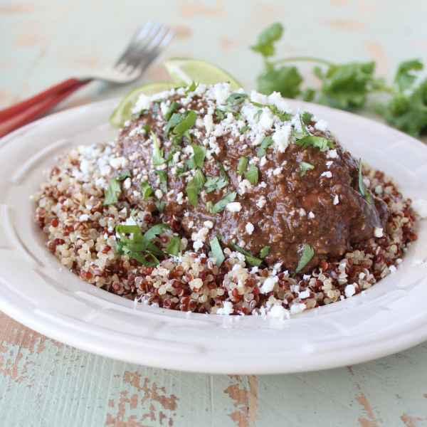 Easy Slow Cooker Chicken Mole Recipe