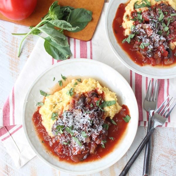 Slow Cooked Vegetarian Mushroom Ragu Recipe