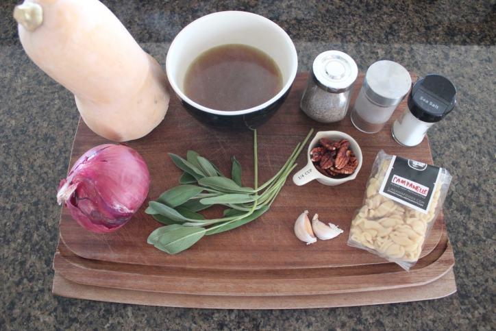 Butternut Squash Pasta Sauce Ingredients