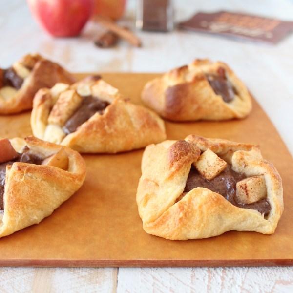 Apple Cinnamon Cream Cheese Pastries