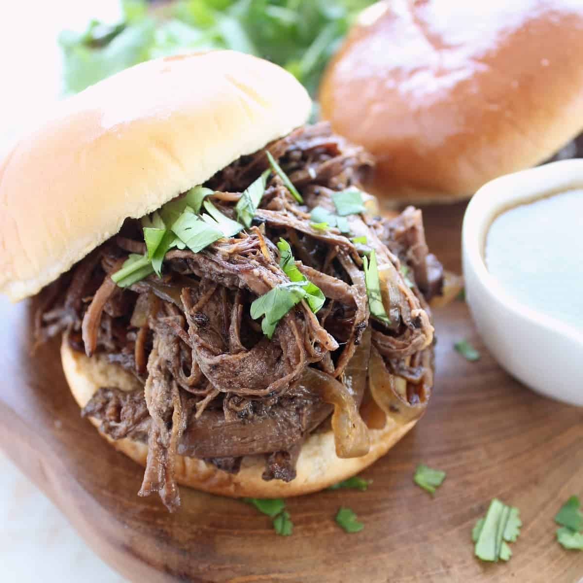 Slow Cooker Coffee Guinness Brisket