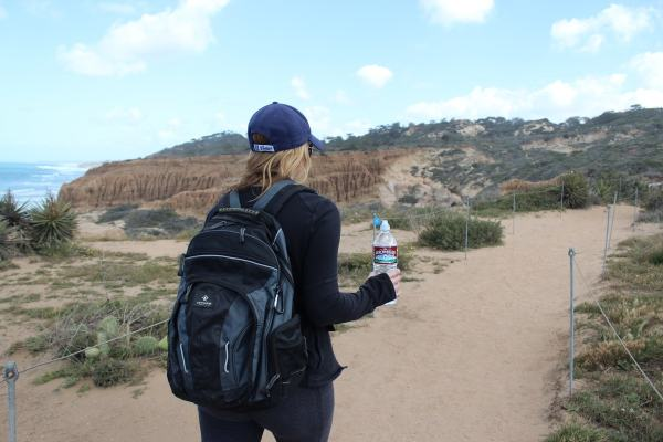 Hiking at Torrey Pines State Park San Diego