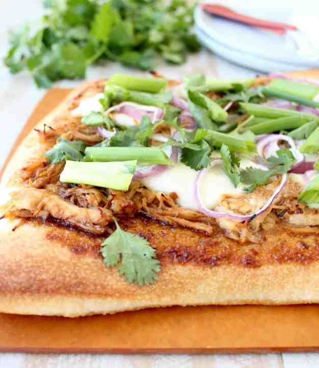 Korean BBQ Chicken Pizza Recipe