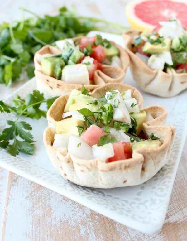 Ceviche Taco Bowls Recipe