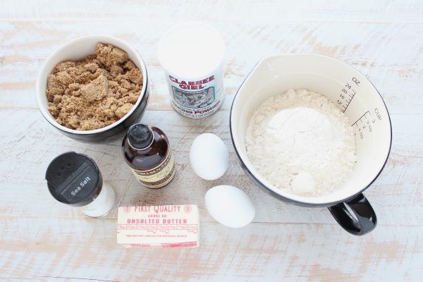 Sea Salt Blondies Ingredients