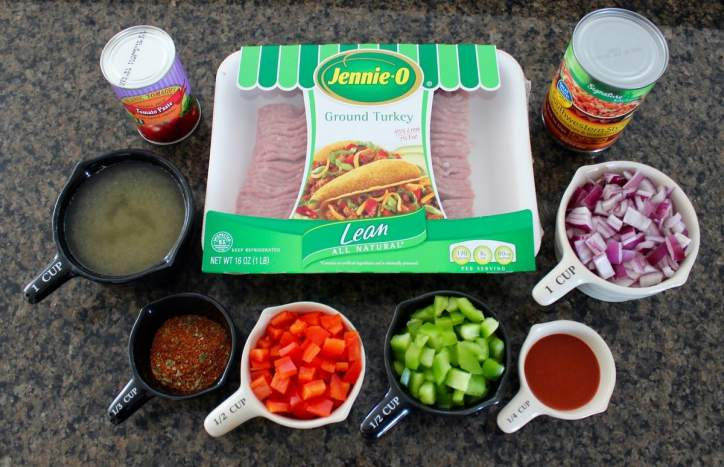 Sloppy Joe Taco Recipe Ingredients