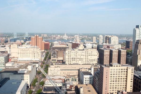 View from Loews Hotel Philadelphia