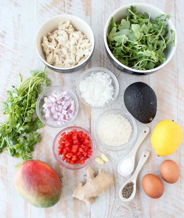 Coconut Crab Cakes Recipe Ingredients