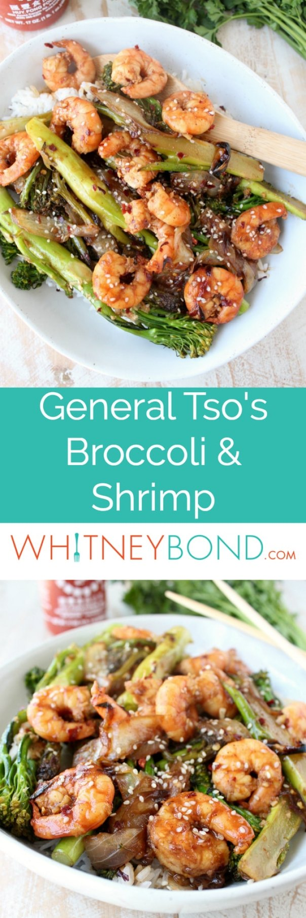 General Tso's Broccoli & Shrimp Recipe