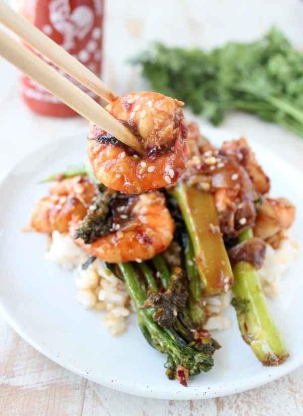 General Tso's Broccoli & Shrimp Recipe