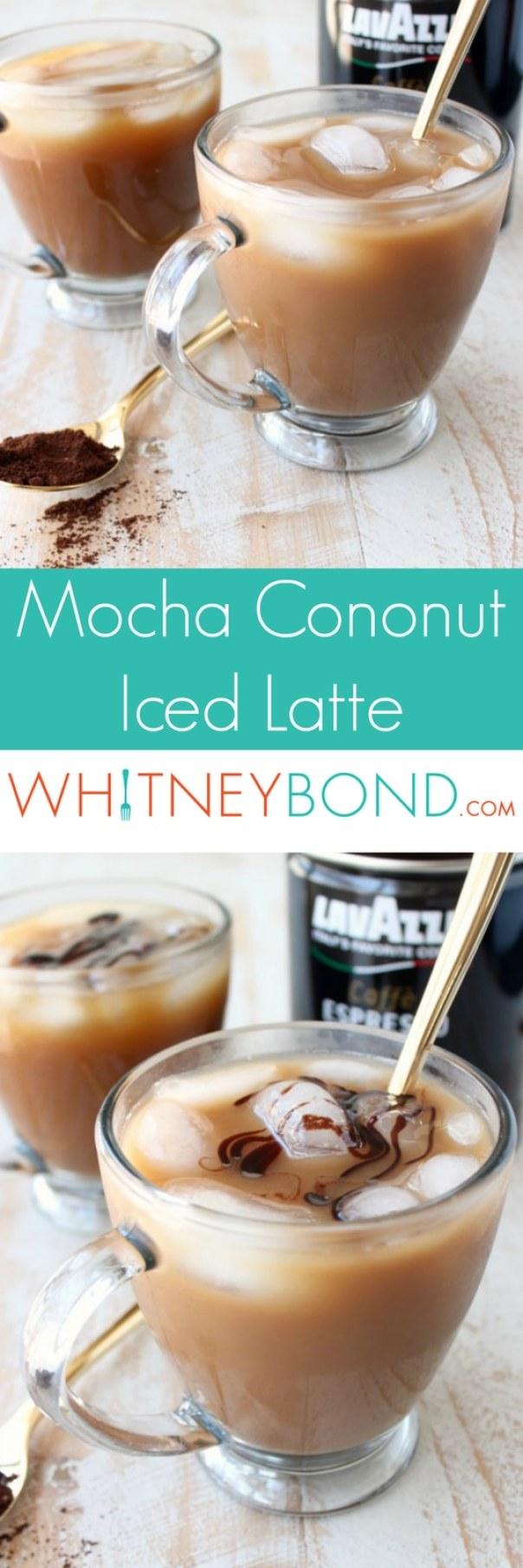 Mocha Coconut Iced Latte Recipe