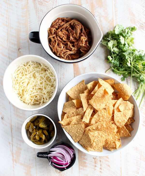 The Ultimate Pulled Pork Nachos Recipe Ingredients