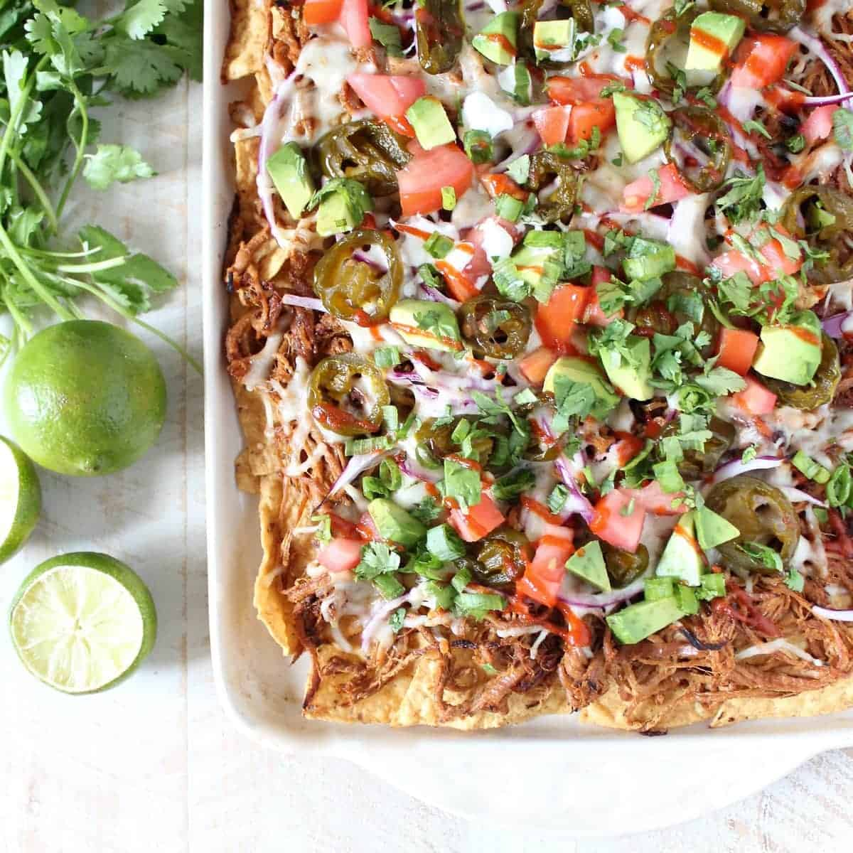 The Ultimate Pulled Pork Nachos