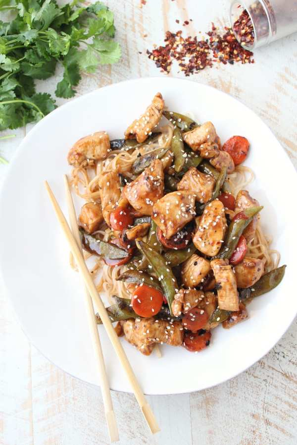 20 Minute Kung Pao Chicken Recipe
