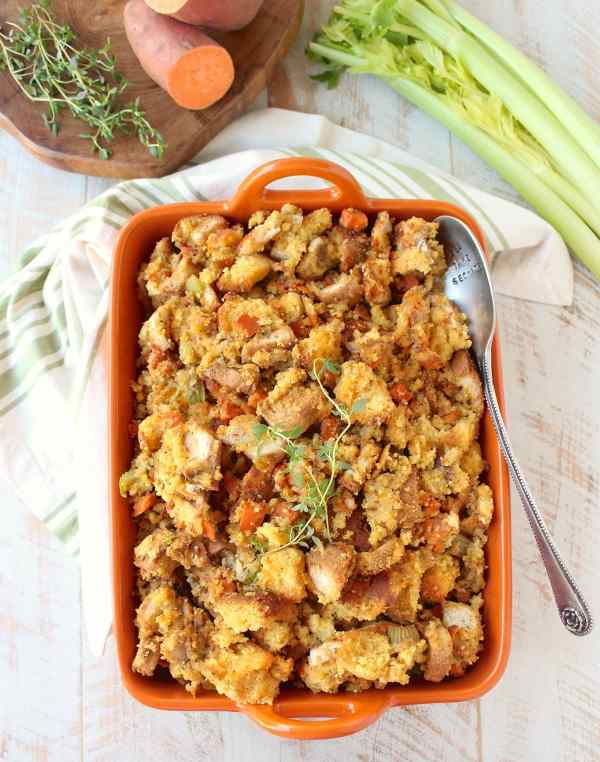 What is a simple bread stuffing recipe?