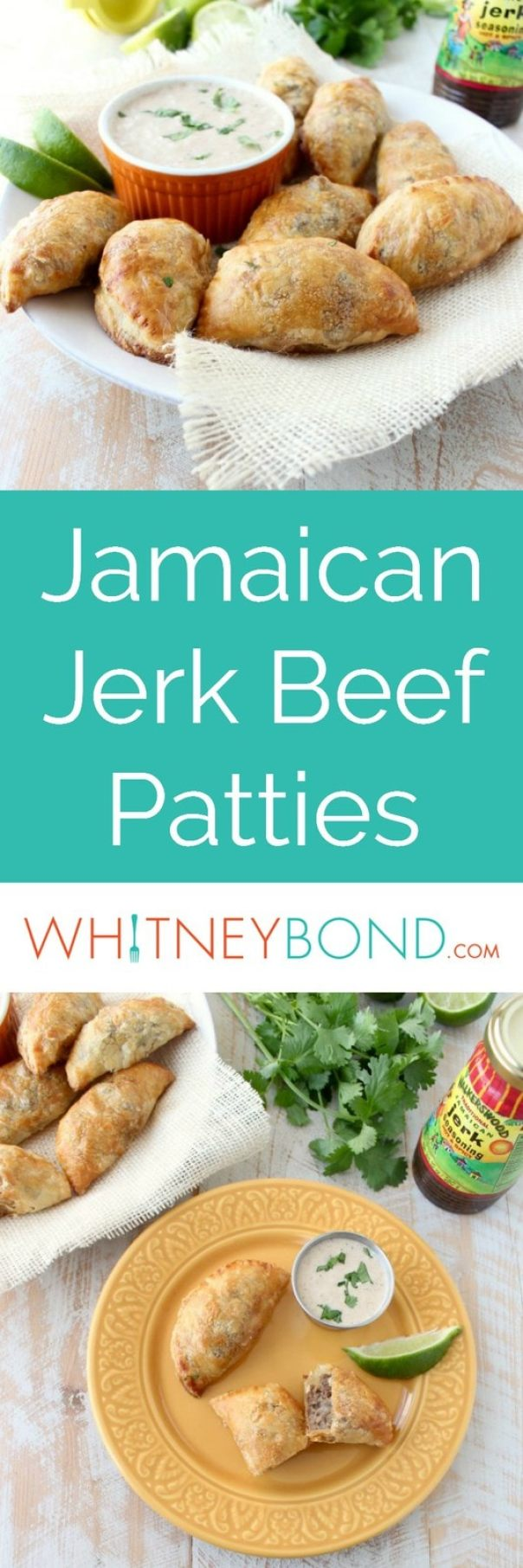 Jamaican Jerk Beef Patties Recipe - WhitneyBond.com