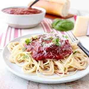 29 Minute Spaghetti Sauce