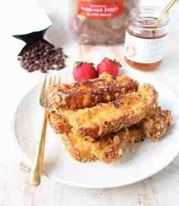 Macadamia Nut Crispy French Toast Sticks