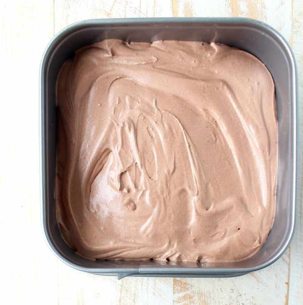 Homemade Chocolate Ice Cream is so easy to make without an ice cream maker! This no churn recipe only requires a couple of steps & a couple of ingredients!