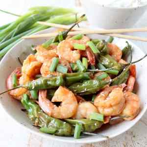 Shishito Shrimp Stir Fry