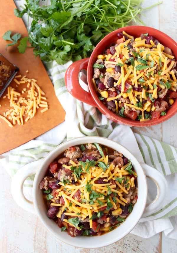 recipe: healthy taco soup with ground turkey [34]